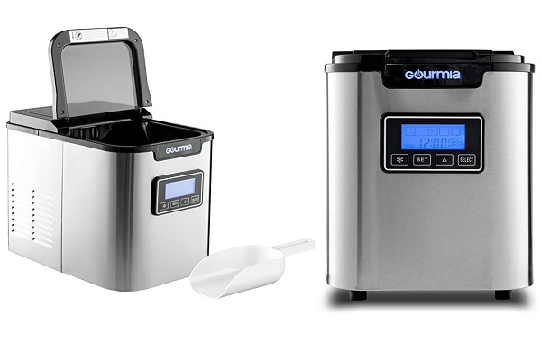 Gourmia GI500 Electric Countertop Ice Maker Machine