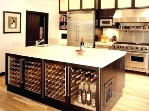 WineRack Kitchen Island