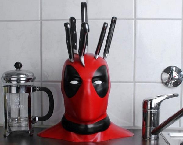 Deadpool 3D Printed Knife Block
