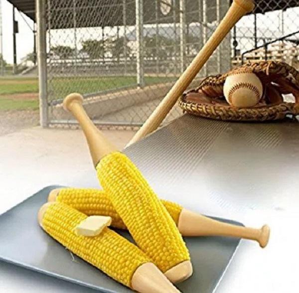 Corn on the Cob Baseball Bat Holders
