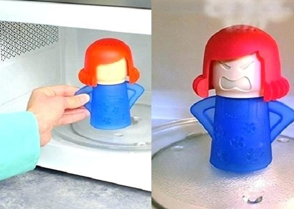 Angry Mama Microwave Steam Cleaner