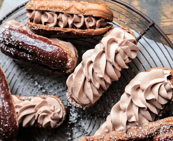 Triple Chocolate Eclairs