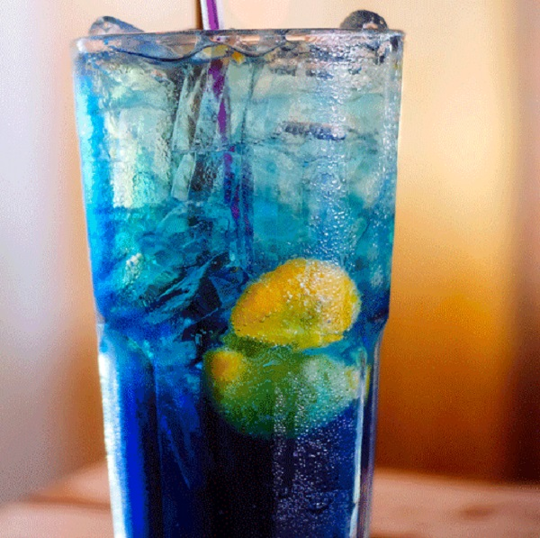 Blue Raspberry Italian Soda
