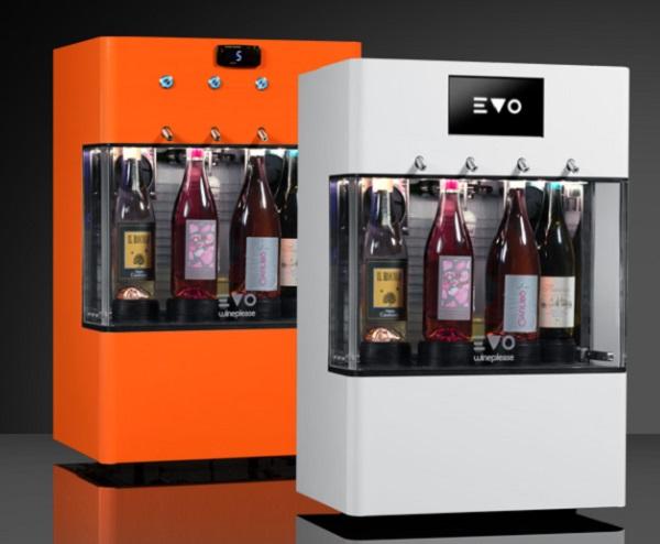 EVO 4 Bottle Wine Dispenser