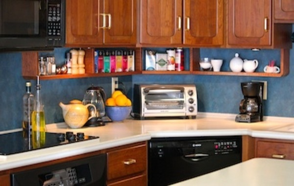 Under Kitchen Cabinet Hanging Shelves