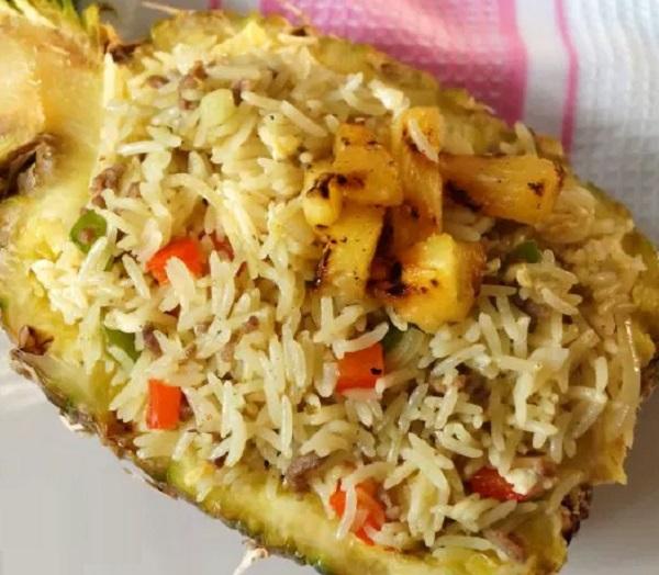 Pineapple Egg Fried Rice