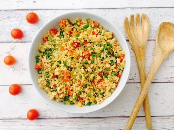 Egg Fried Cauliflower Rice