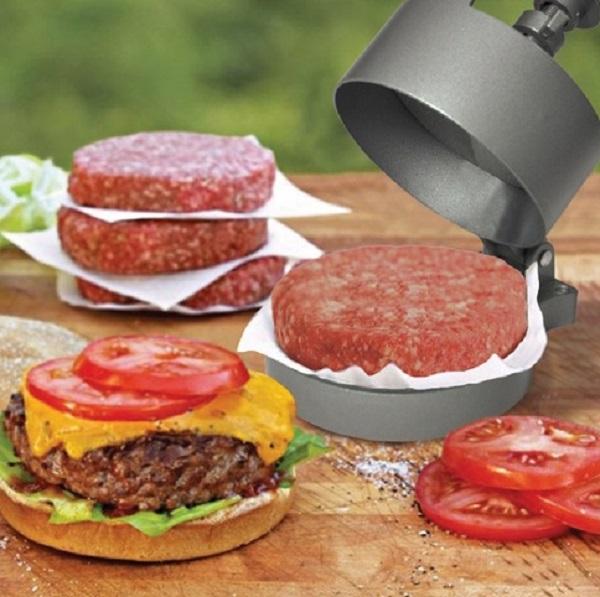 Perfect Patty Steel Burger Press