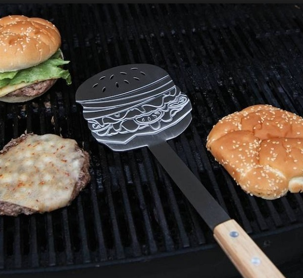 Burger Shaped Burger Flipper
