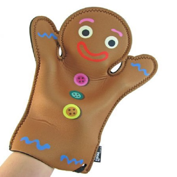 Gingerbread Man Oven Glove