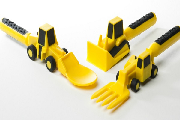 Construction 3-piece Cutlery Set