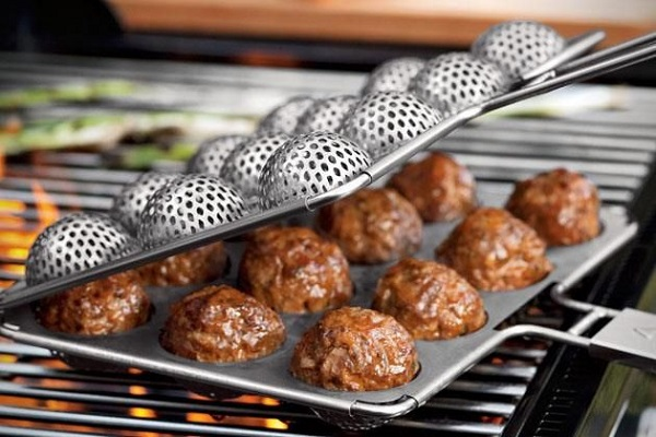 12X Meatball Grilling Cage