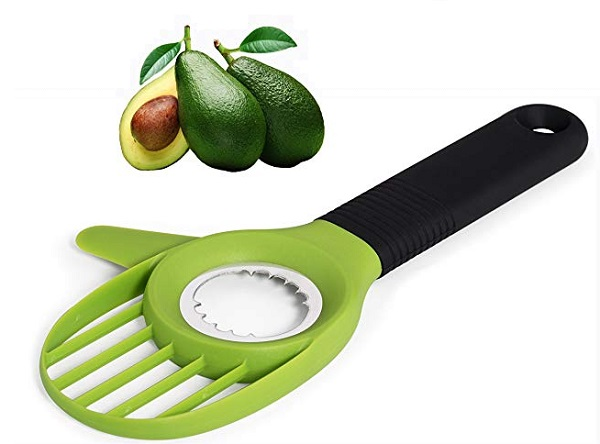 Uniquee 3-in-1 Avocado Tool Slicer, Pitter and Cutter