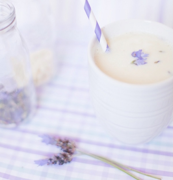 Lavender White Hot Chocolate