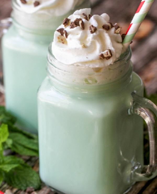 Mint White Hot Chocolate