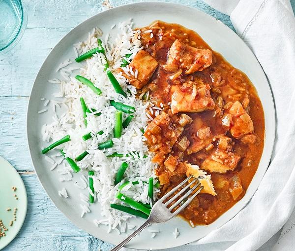 Smoky Fish Curry