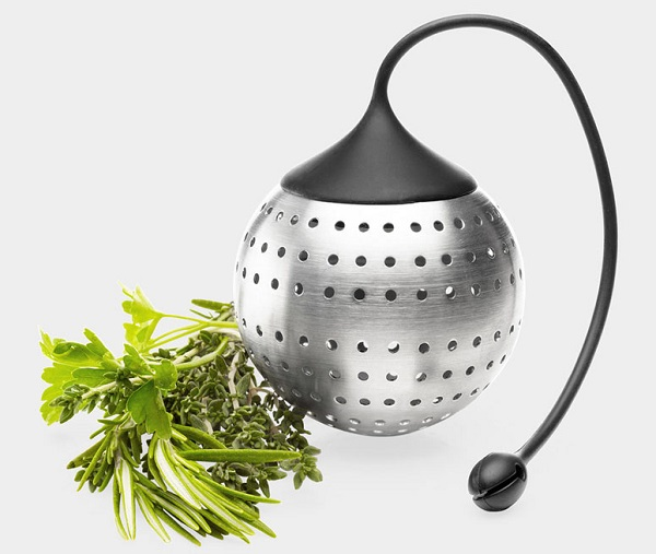The Ball Stainless Steel Herb and Spice Infuser