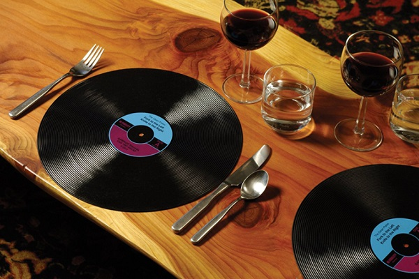 X4 Vinyl Record Placemats