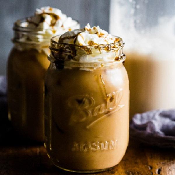 Vanilla Bean Horchata Iced Coffee