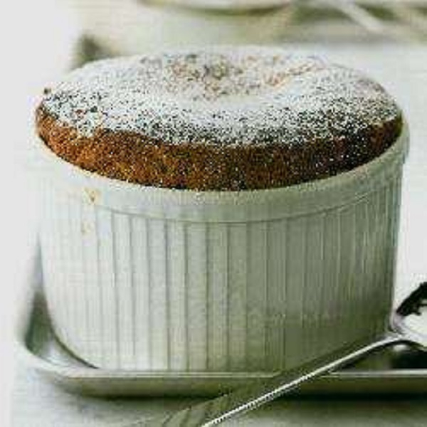 Prune and Apple Soufflé