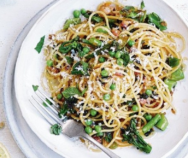 Summer Veg Carbonara