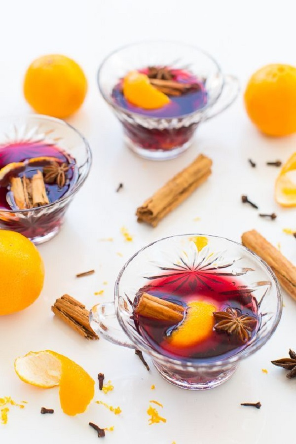 Simple Hot Spiced Wine