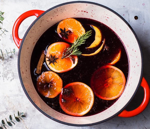 Citrus Spiced Wine