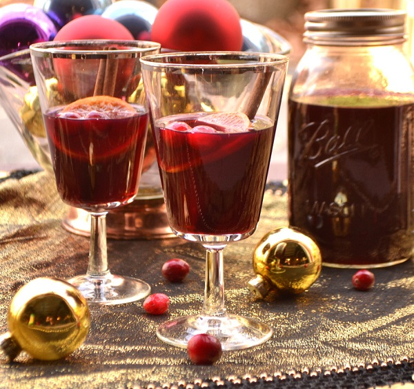 Cranberry Spiced Wine