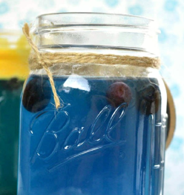 Baby Blue Baby Shower Punch