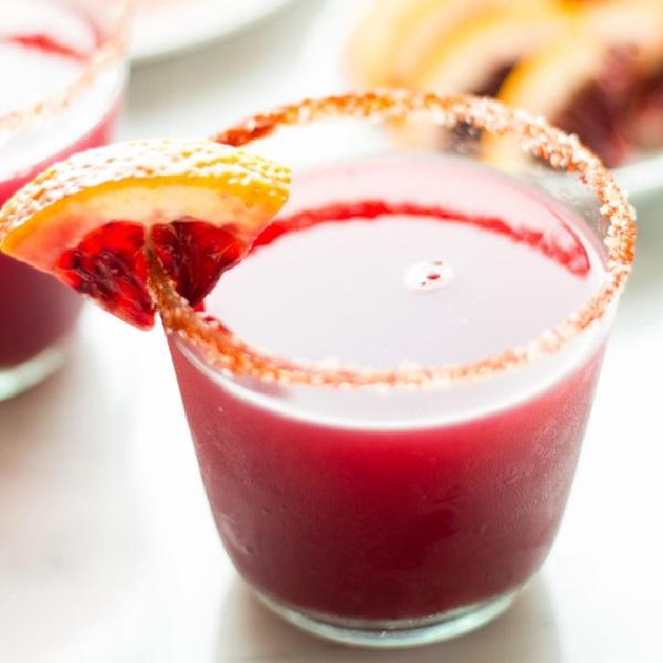 Blood Orange Margarita With Spanish Smoked Paprika