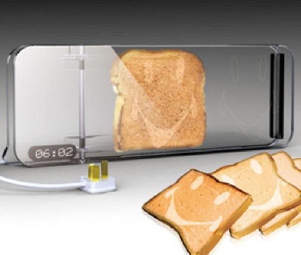 Transparent Glass Toaster Concept