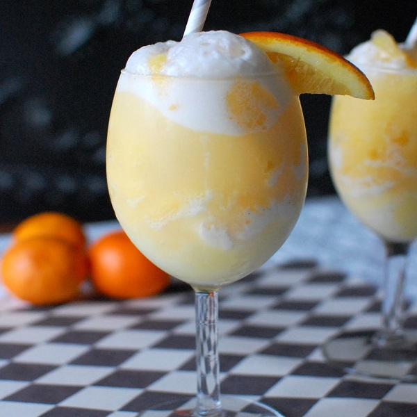 Orange Cream Mimosas