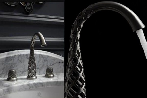 Metal 3D Printed Kitchen Tap