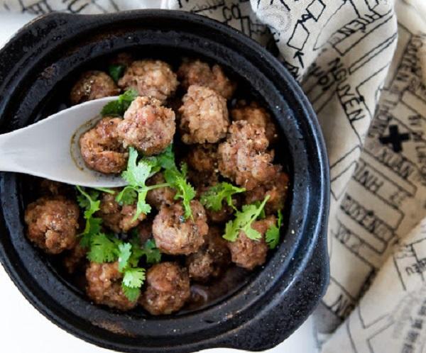 AIP Friendly Braised Vietnamese Meatballs
