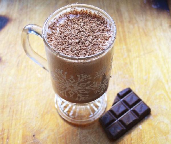 Bourbon Chocolate Eggnog