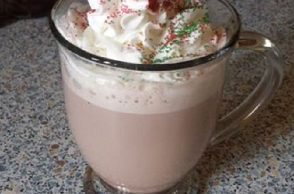 Hot Chocolate Eggnog