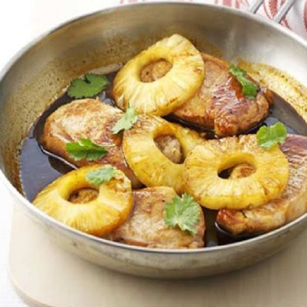 Spiced Pineapple Pork