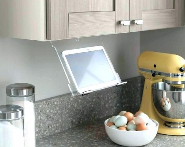 See-Through Plastic Tablet Holder
