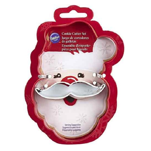 Father Christmas (Santa Claus) Face Cookie Cutter