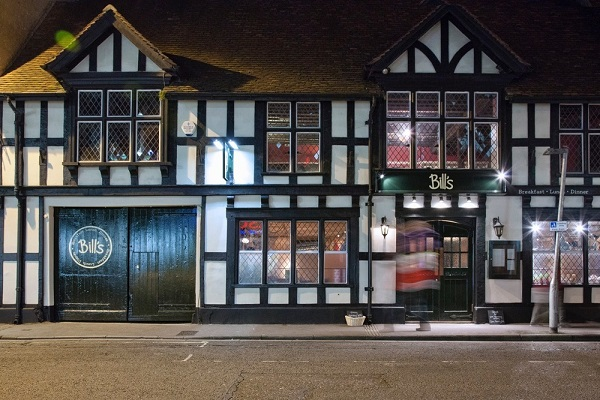 Bill's Salisbury Restaurant, Blue Boar Row, Salisbury