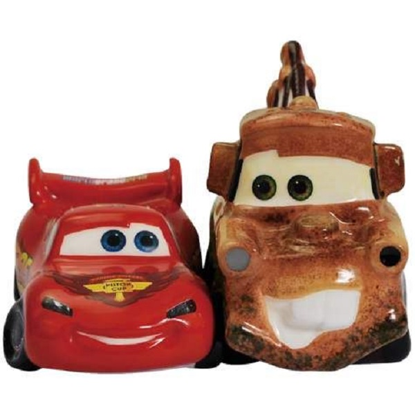 Disney Cars Lightning McQueen & Mater Salt and Pepper Shakers