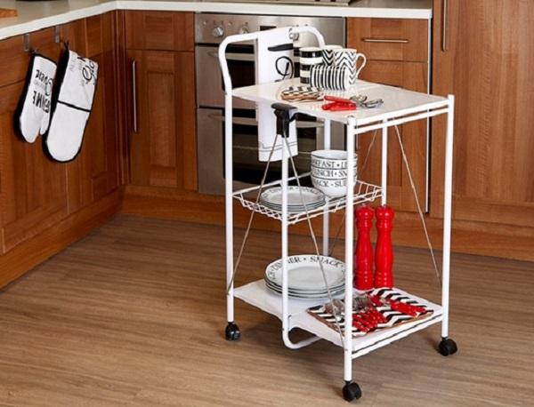 Folding Kitchen Trolley