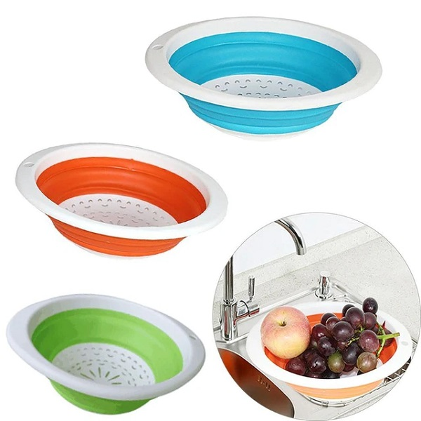 Foldable Washing and Draining Bowls