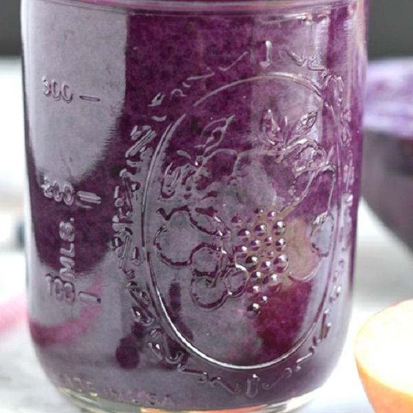 Blueberry Cabbage Juice