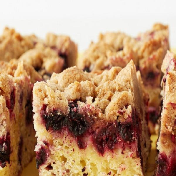 Black-Raspberry Crumb Cake