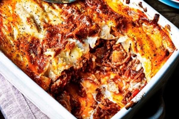 Beef And Potato Moussaka