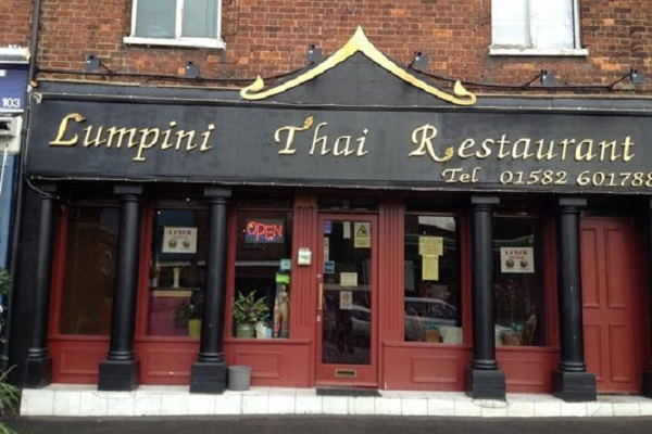 Lumpini Thai Restaurant, High St S, Dunstable