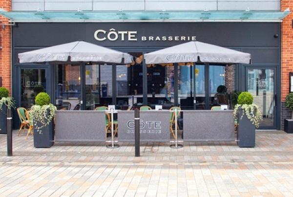 Côte Brasserie, Merchants' Rd, Gloucester