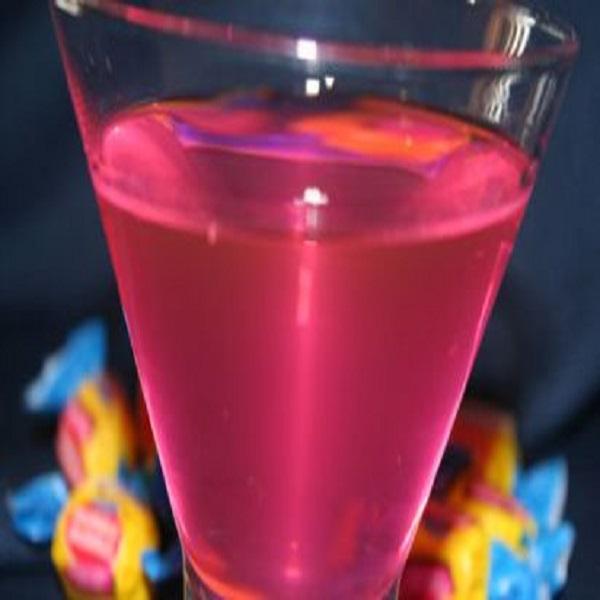 Bazooka Joe Infused Vodka Drink
