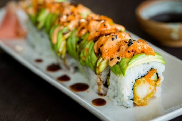 Dragon Sushi Roll